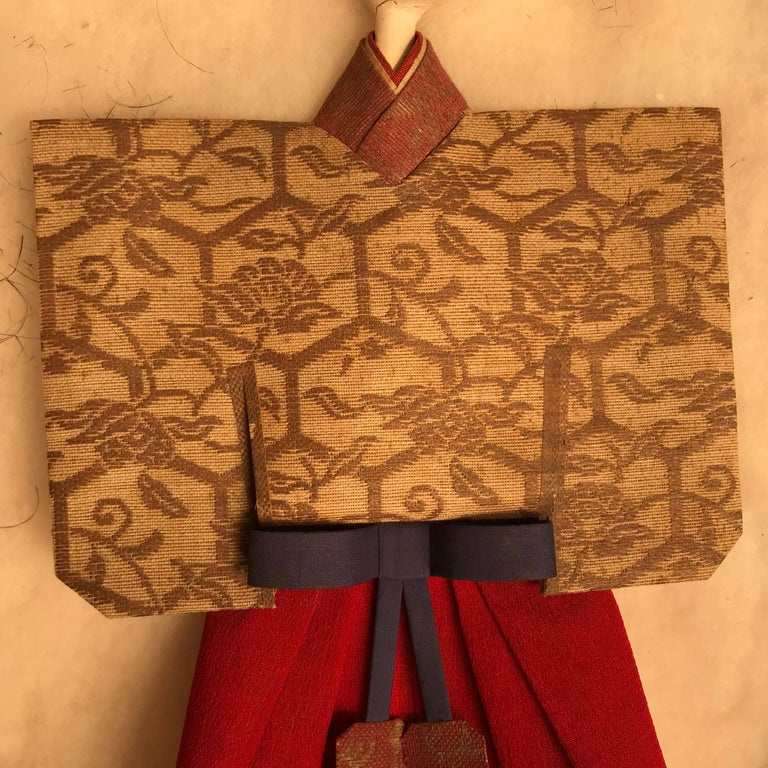 Japanese Imperial Pair Dolls 1840 For Sale 1