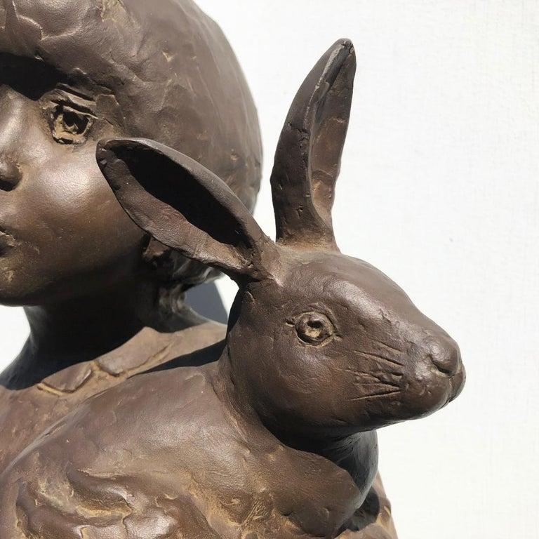 20th Century Japanese Important Artist Cast Bronze