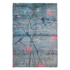 Japanese Inspired Maki Rug by Deanna Comellini