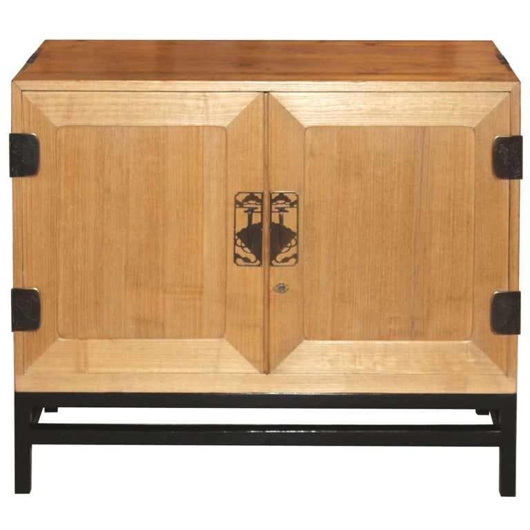 Japanese Kimono Chest on Stand For Sale