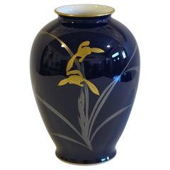 Japanese Koransha Porcelain Vase