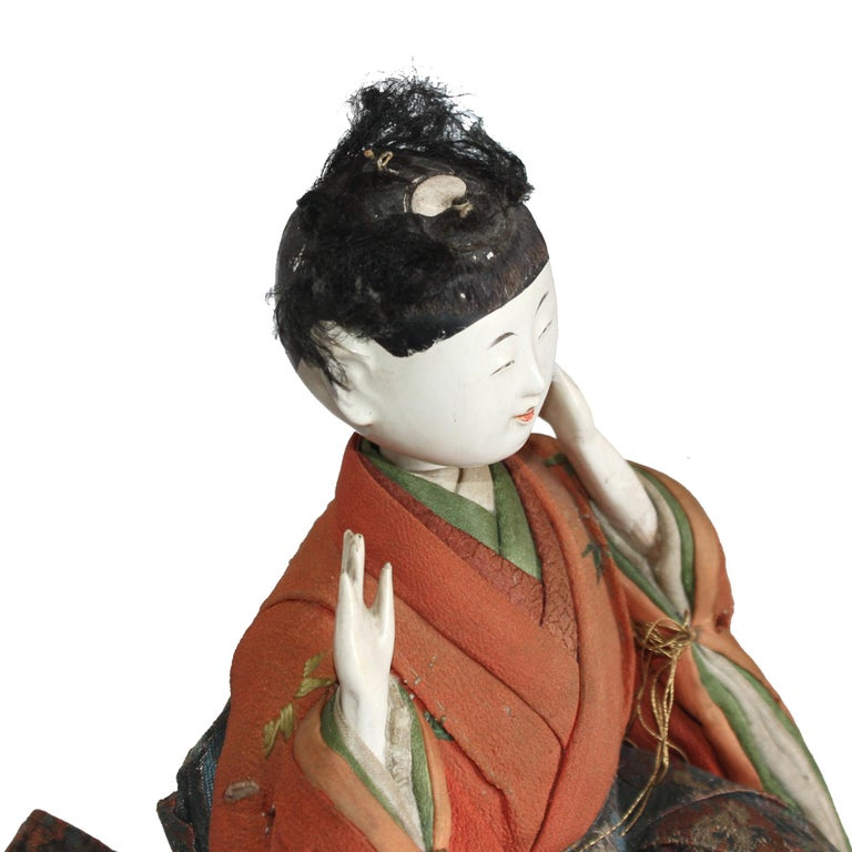 Japanese Kyoto Doll In Fair Condition For Sale In San Francisco, CA