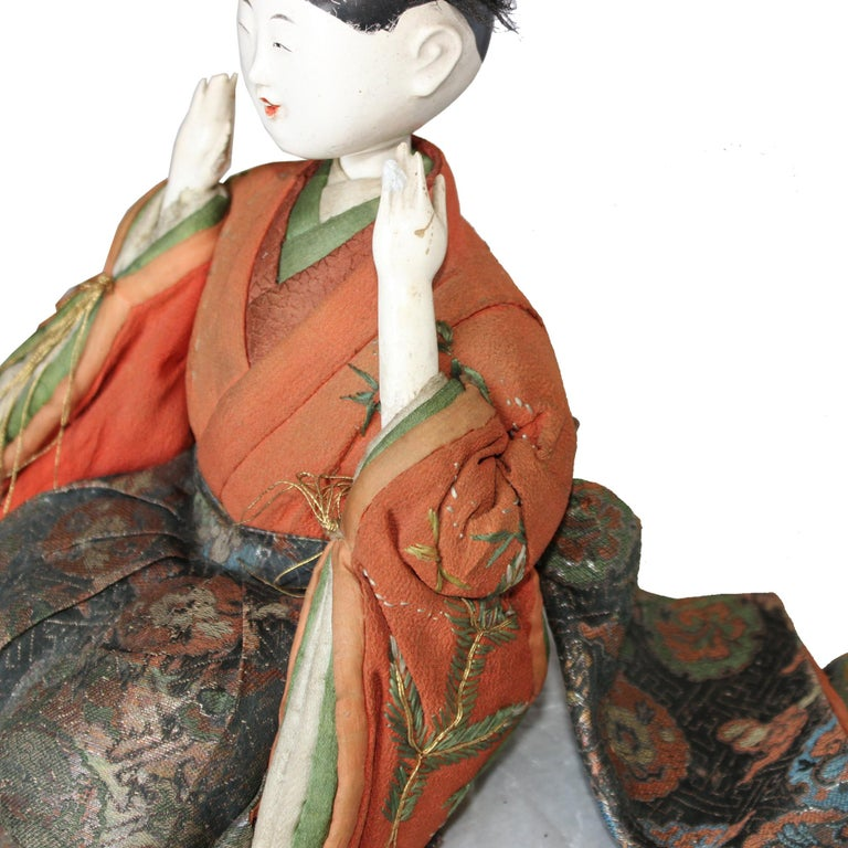 Late 19th Century Japanese Kyoto Doll For Sale