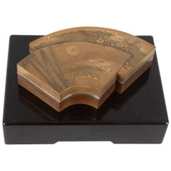 Japanese Lacquer Kogo 'Incense Box'