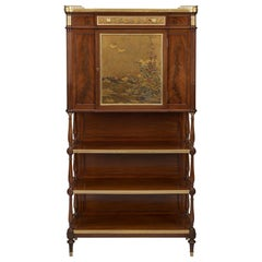 Japanese Lacquer Mounted Cabinet by L'Escalier de Cristal. French, circa 1900