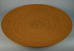 Japanese Large Bamboo Platter/Wall Hanging