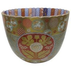 Japanese Late 19th century Meiji Koransha Porcelain Vase, circa 1880