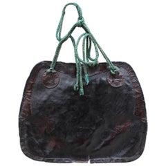 Japanese Leather Saddle Bag