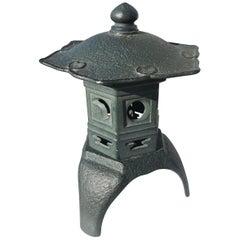 """Japanese Lovely Old """"Yukimi Lantern"""""""