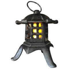 "Japanese Lovely Older ""Yukimi Snow Garden"" Lantern First We've Seen"