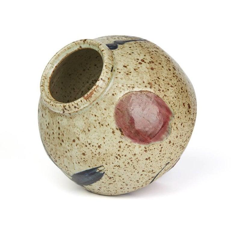Japanese Mark Studio Pottery Vase, 20th Century For Sale 1