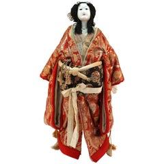 Japanese Meiji Bunraku Ningyo Puppet