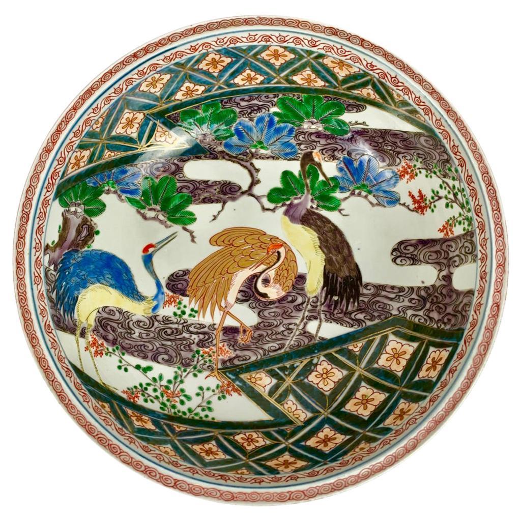 Imari Porcelain Bowl, Hand Painted- Meiji Period, Japan, 19th c.