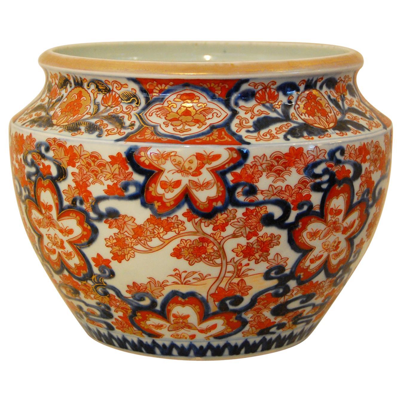 Japanese Meiji Period Imari Jardinière