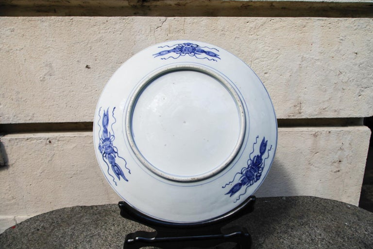 Japanese Meiji Period Imari Porcelain Charger, 19th Century For Sale 4