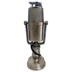 Japanese Microphone Tabletop Lighter