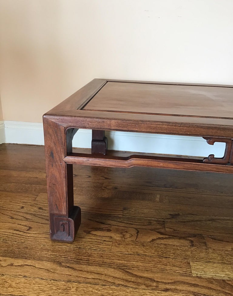 Japanese Mid-19th Century Coffee Table In Good Condition For Sale In Douglas Manor, NY