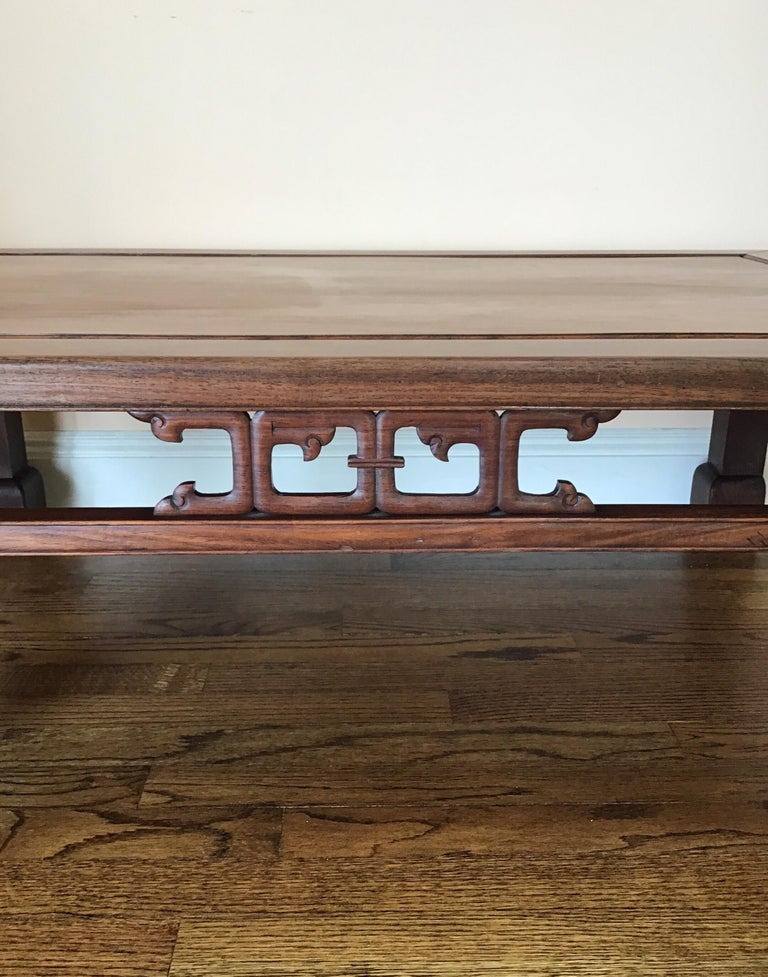 Fruitwood Japanese Mid-19th Century Coffee Table For Sale