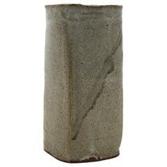 Japanese Mid-Century Art Studio Ceramic Vase