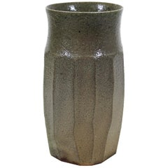 Japanese Mid-Century Modern Art Studio Ceramic Vase