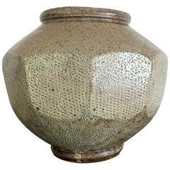 Japanese Mingei Ceramic Jar Tatsuzo Shimaoka