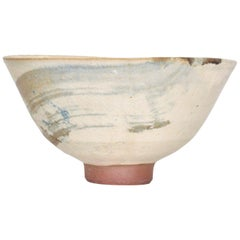 Japanese Modern Art Lovely Donburi Bowl Hand Painted Ceramic