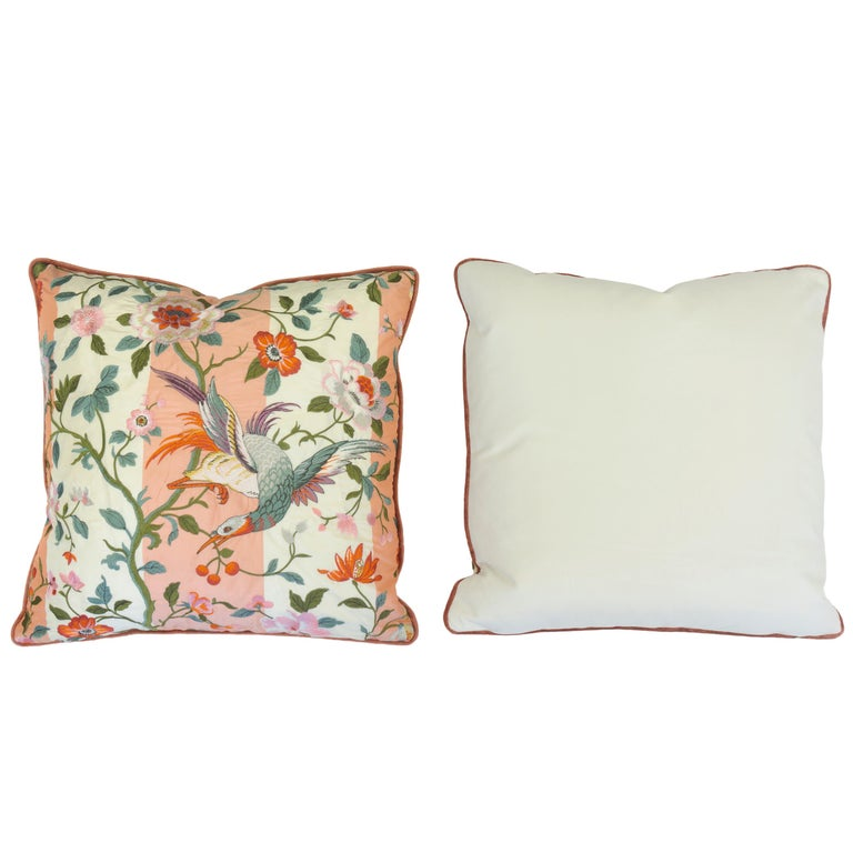 American Japanese Motif Throw Pillows For Sale
