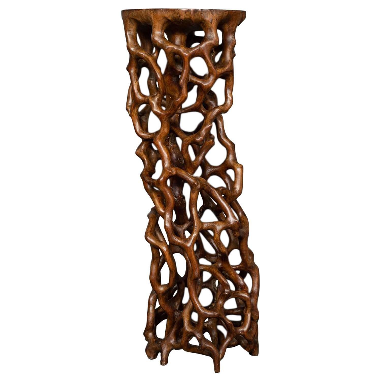 Japanese Natural Wood Stand
