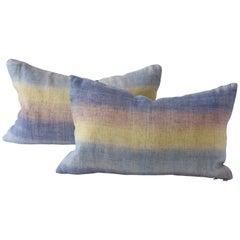Japanese Noren Textile Cushion, Lumbar