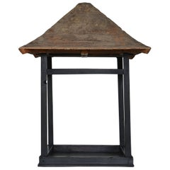 Japanese Old Building Object/Antique Figurine Wabisabi-Art Architecture