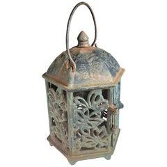 "Japanese Old ""Butterfly"" Flower Garden Lantern"