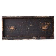 Japanese Old Chest of Drawers 1800s-1860s/Antique Cabinet Shelf Storage Wabisabi