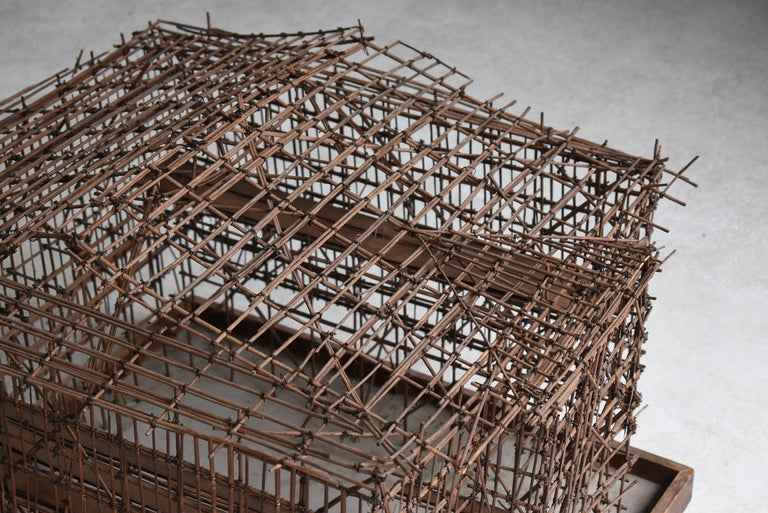 Japanese Old Scaffolding Model 1940s-1970s/Figurine Object Contemporary Art  6