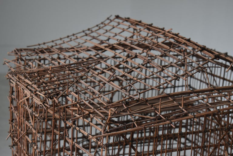 20th Century Japanese Old Scaffolding Model 1940s-1970s/Figurine Object Contemporary Art