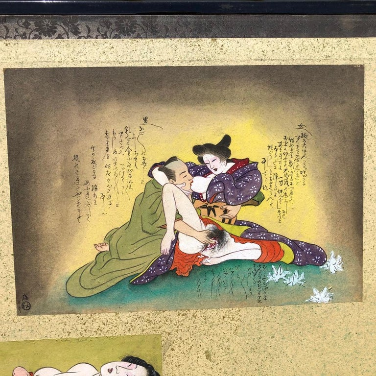 Hand-Painted Japanese Old