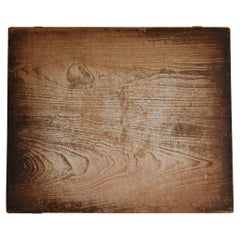Japanese Old Wooden Board Mochiita 1860s-1920s/Antique Abstract Art Wabisabi