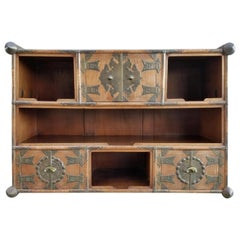 Japanese or Korean Tansu with Shelving