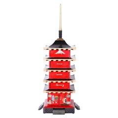 Japanese Pagoda Jewelry or Keepsake Box
