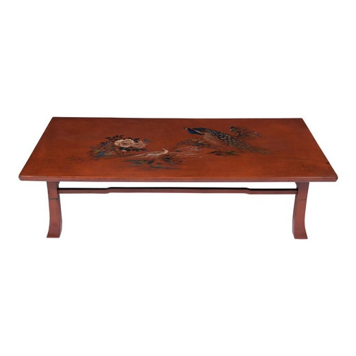Japanese Painted Coffee Table For Sale At 1stdibs