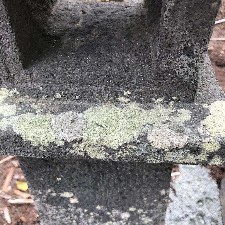 Japanese Pair of Antique Stone