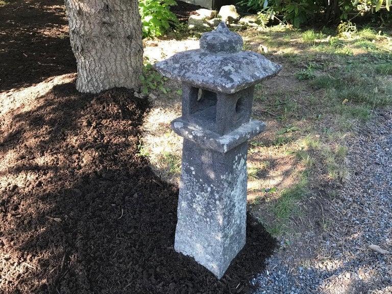 Mid-19th Century Japanese Pair of Antique Stone