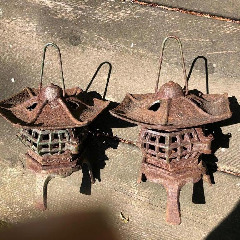 Japanese Pair of Tea Garden