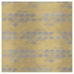 Japanese Pattern Yellow Panel