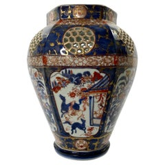 Japanese Porcelain 'Imari' Vase, Arita, c. 1700, Edo Period