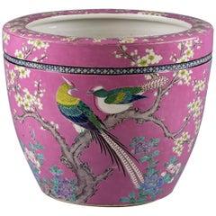 Japanese Porcelain Jardiniere, circa 1900