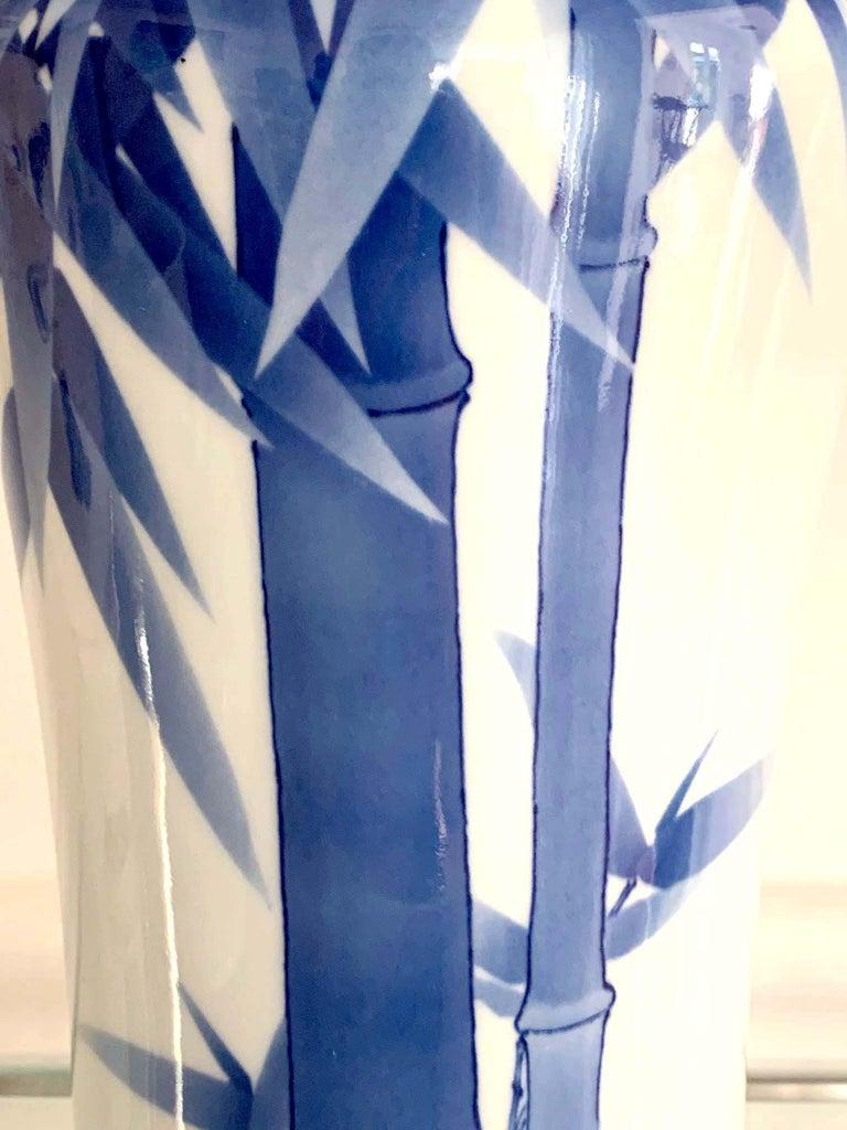 Japanese Porcelain Vase Makuzu Kozan Meiji Period For Sale 1