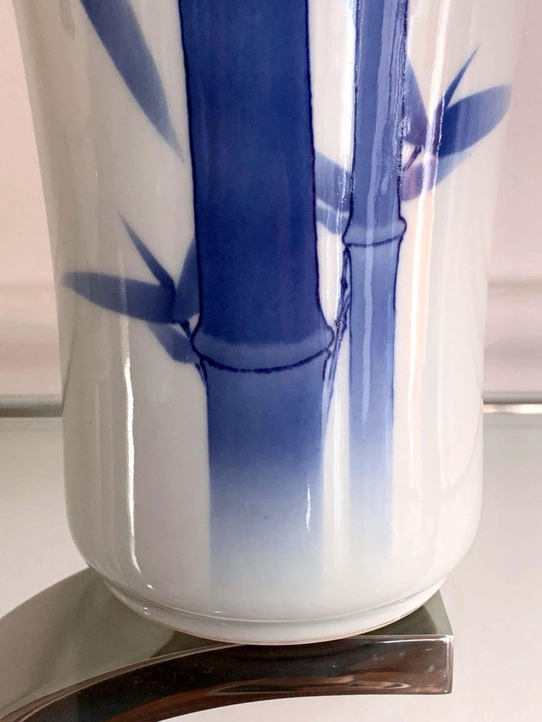 Japanese Porcelain Vase Makuzu Kozan Meiji Period For Sale 2