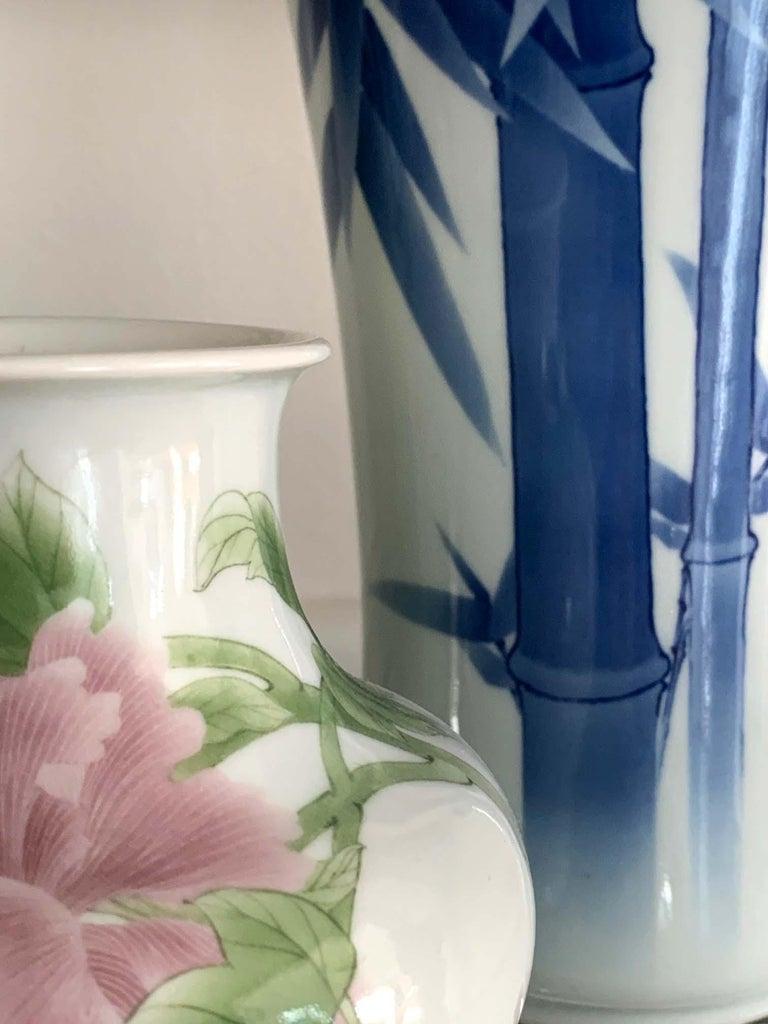 Japanese Porcelain Vase Makuzu Kozan Meiji Period For Sale 3