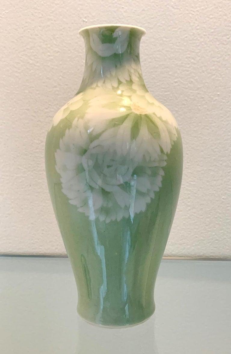 Japanese Porcelain Vase Meiji Period Makuzu Kozan In Good Condition For Sale In Atlanta, GA