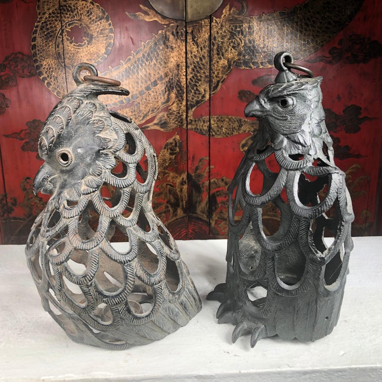 20th Century Japanese Rare Pair of